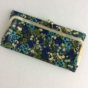 Liberty of London TARGET Blue Green Floral Wallet